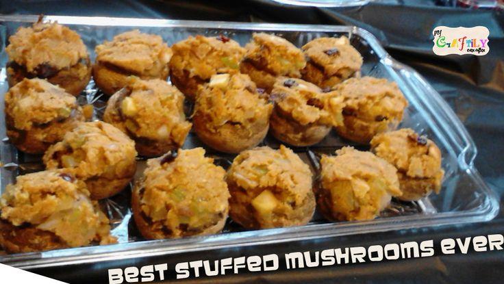 THE Best Stuffed Mushrooms Ever