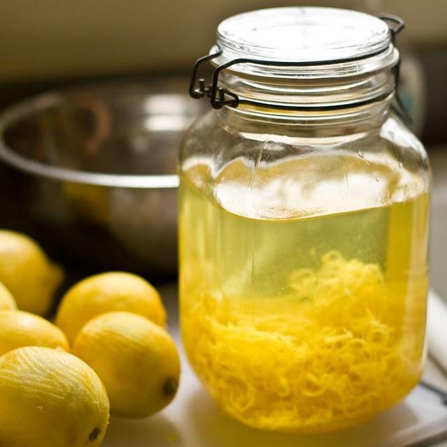 Homemade Limoncello Recipe — Dishmaps