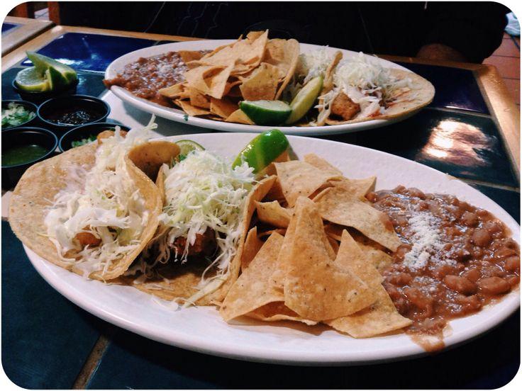 Fish taco platter from Rubio's | Nomz | Pinterest