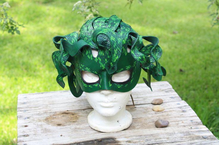 Medusa mask and head dress  costume ideas 2012  Pinterest