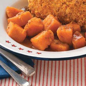 Caramel Sweet Potatoes. To make this non-GMO, substitute 1/2 cup sugar ...