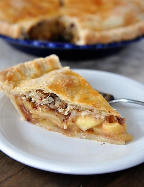 Toffee Crumble Caramel Apple Pie | FOOD | Pinterest