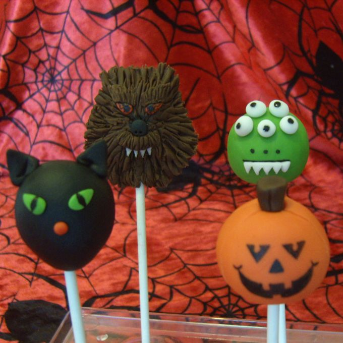 Cake Pops ] – Halloween Cake Pops | Cake pops and cup cakes ...