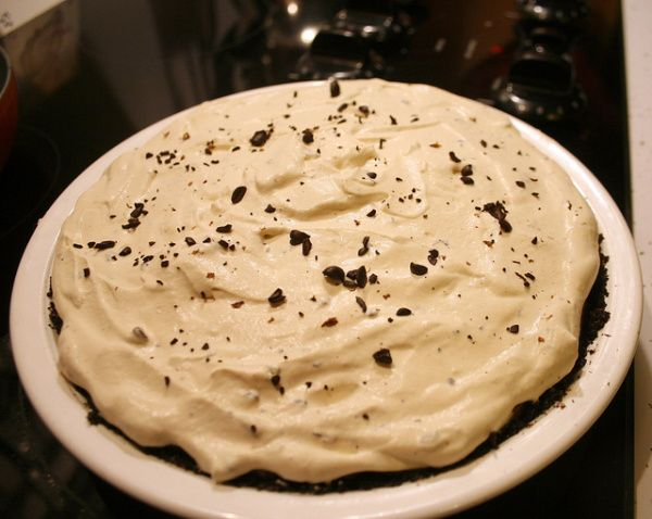 Coffee Cream Pie @ mypiary.com | Food from the Heart! Desserts, Pies ...