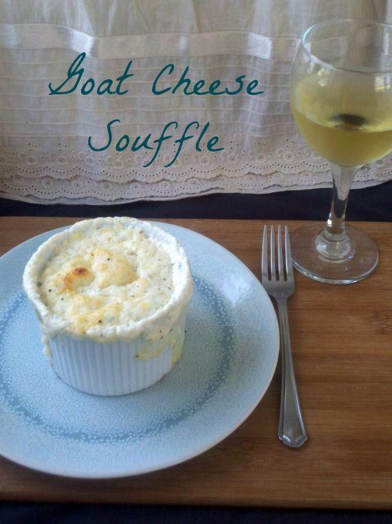 Goat Cheese Souffle #goatcheese #souffle