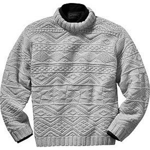 Irish Fishermans Sweater KNIT FASHION Pinterest