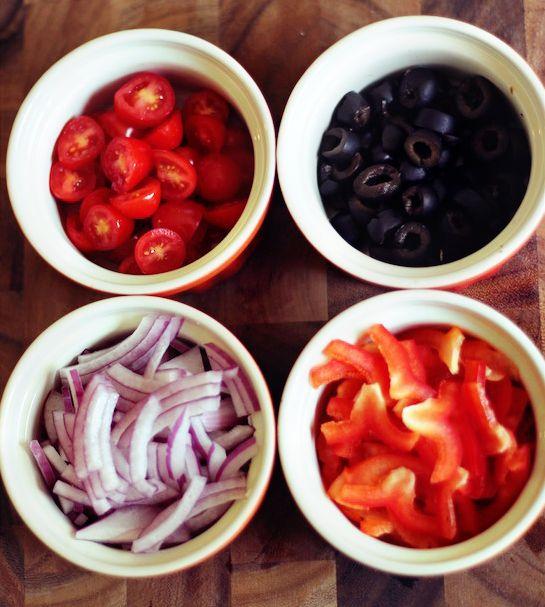 Greek Chicken Pockets Ingrediants | Foooood! | Pinterest