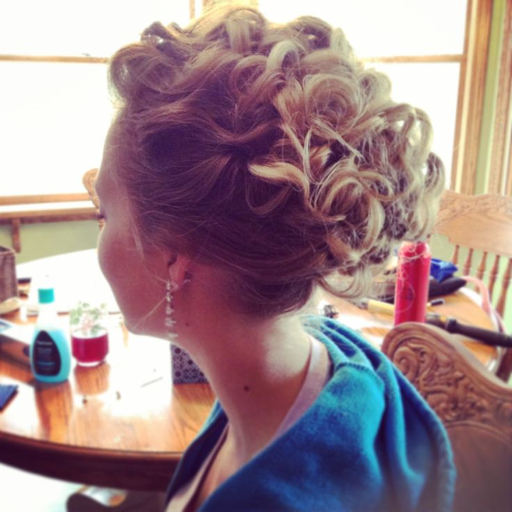 Wedding hair trial | Hair | Pinterest