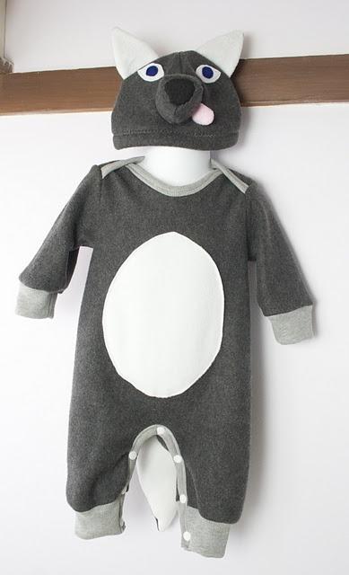 Baby Wolf Hat Costume Closet