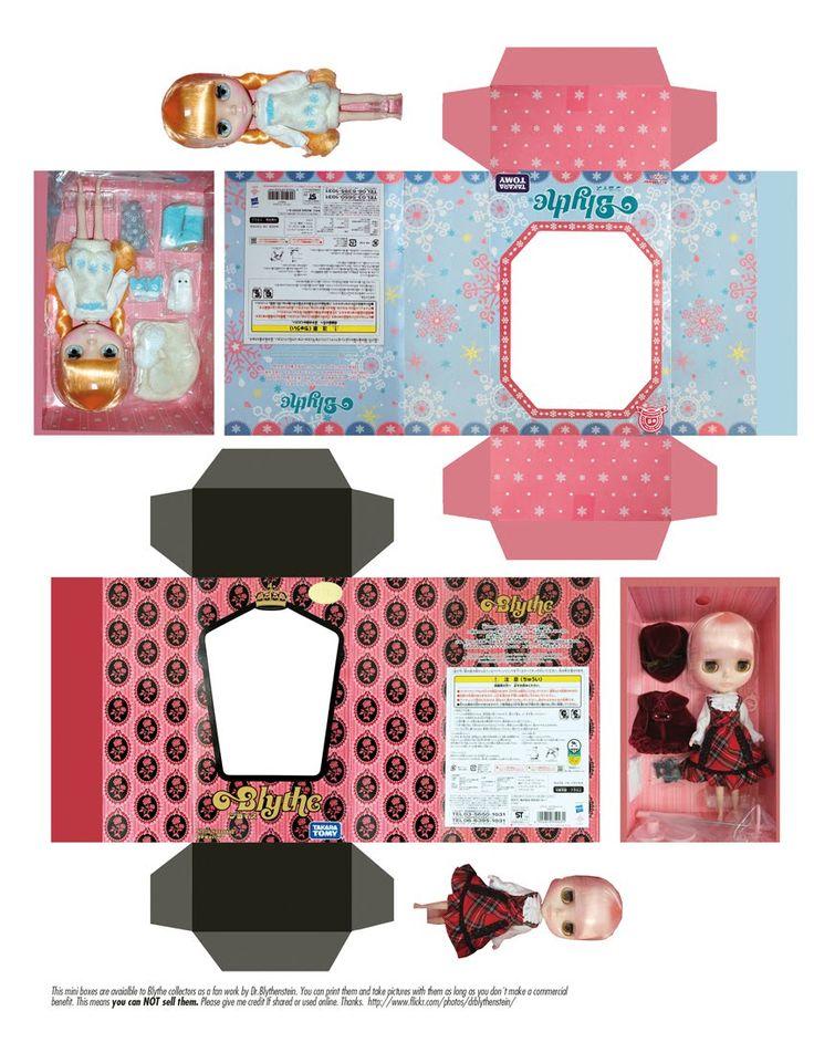Принты для поделок для кукол 32
