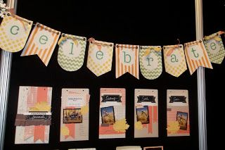 Thankful Tablescape Kit and Banner Kit - Stampin' Up! Convention 2013