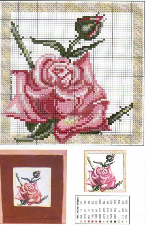 Cross Stitch *<3* Roses