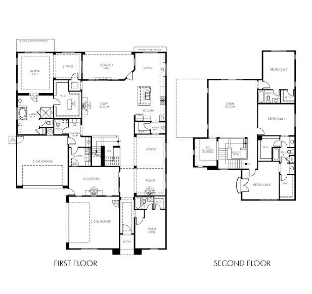 frankfort meritage homes home floor plans pinterest