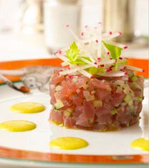 ... Fiori photo by: Ben Fink Dish: Curried Tuna Tartare Chef: Sottha Khunn