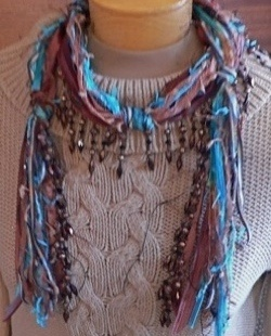 Over 300 Free Crocheted Scarf Patterns at AllCrafts!