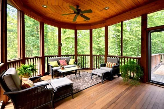back porch country cabin pinterest