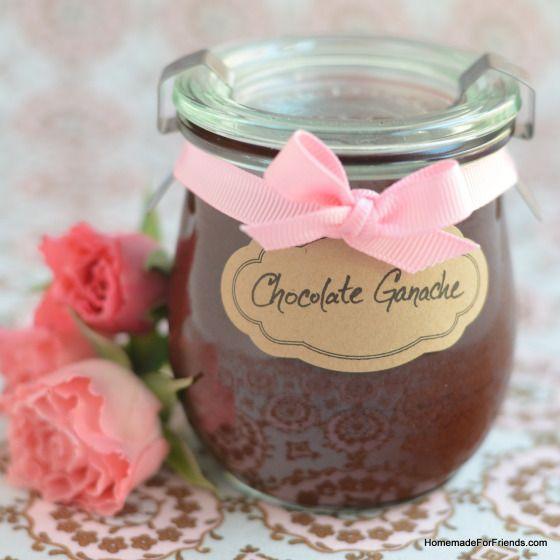 Chocolate Ganache | FOOD | Pinterest
