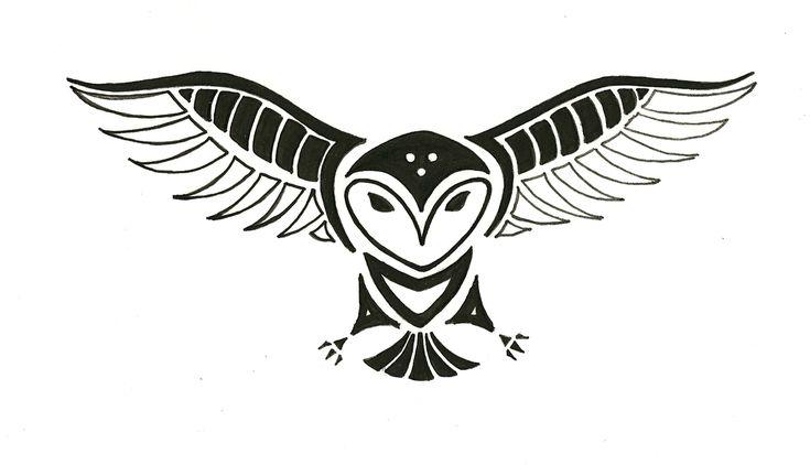 Tribal barn owl