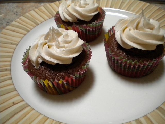 Mexican hot chocolate cupcakes by Baa Baa Cupcake, via Flickr