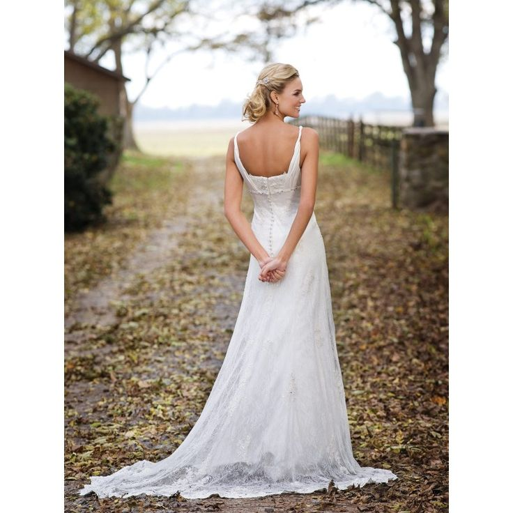 Garden Wedding Dresses For Older Brides : Pin by tammy fitts on marry me forever and ever