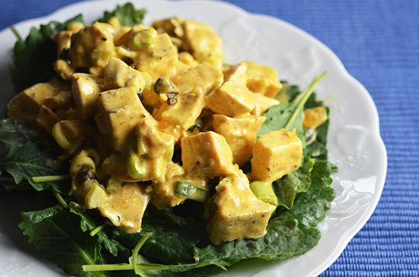 curried leftover turkey salad | GOBBLING LEFTOVER GOBBLE | Pinterest