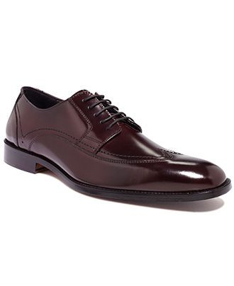 Johnston & Murphy Shoes, Ware Wing Tip Lace Up Shoes - All Men's Shoes