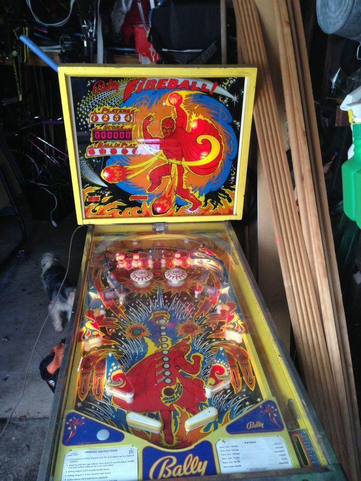 fireball machine ebay