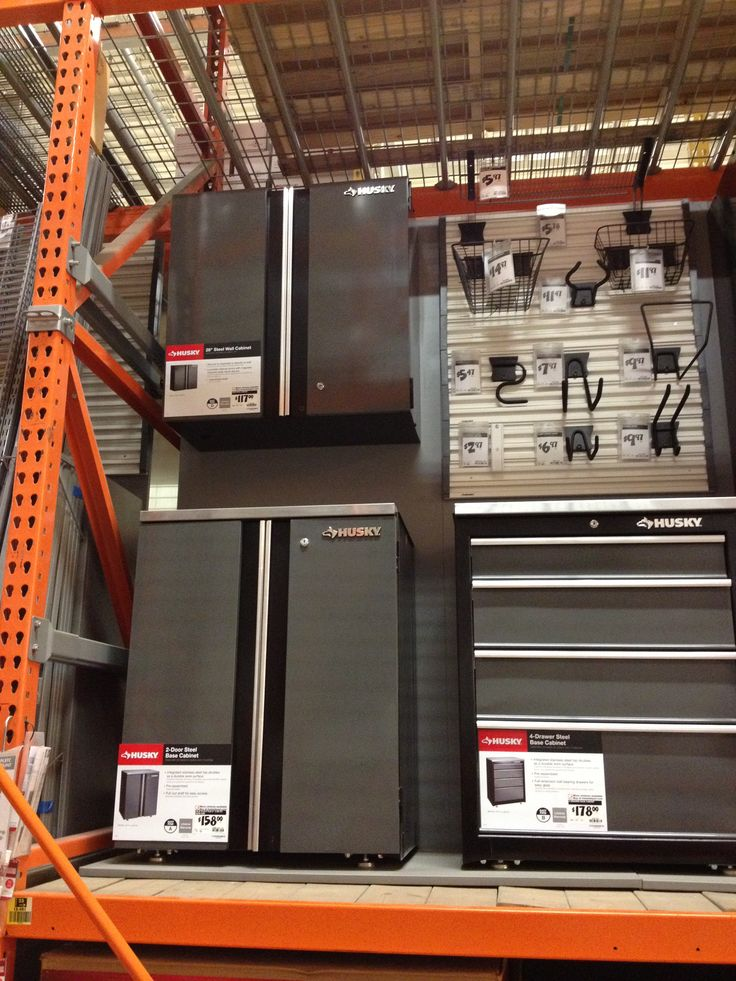 Home Depot Garage Garage Organization Pinterest