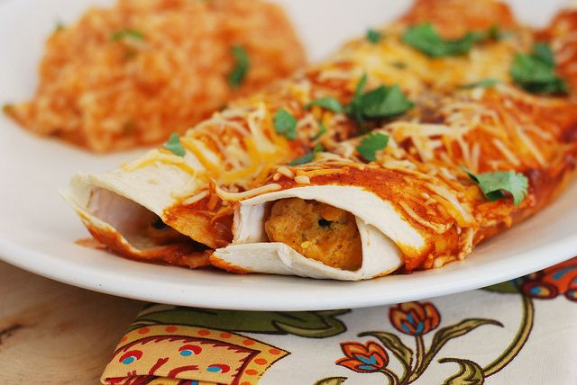 Butternut Squash Enchiladas by fakeginger, via Flickr (recommended by ...