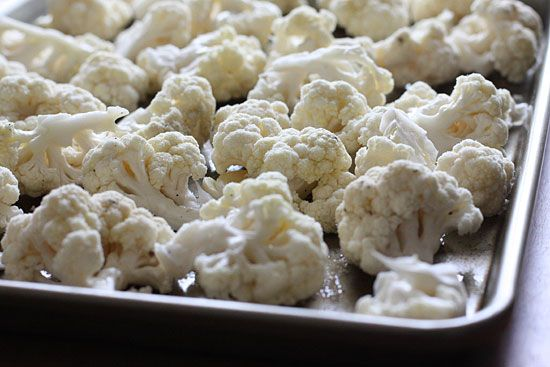 Garlic Roasted Cauliflower with Toasted Asiago Bread Crumbs | Recipe