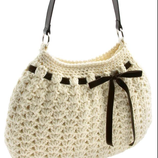 Nordstrom Crochet Hobo bag