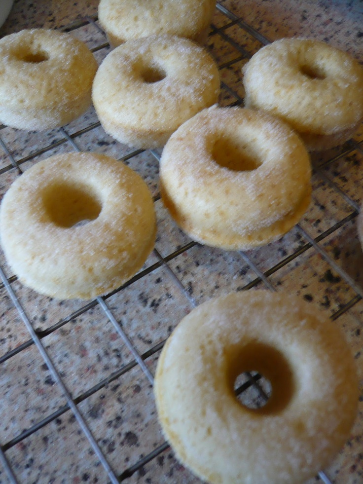 Mini Baked Donuts | Baked donuts | Pinterest