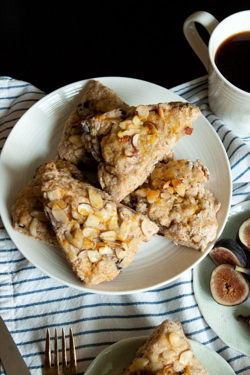 fig orange almond scones | cooking experiments | Pinterest