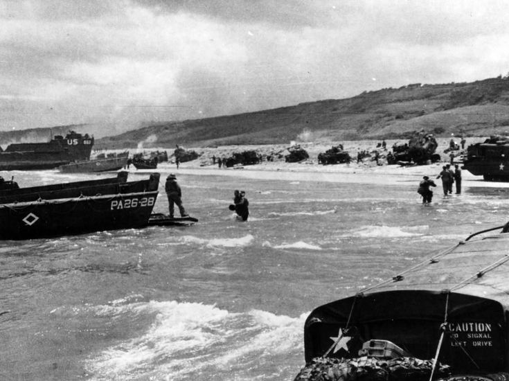d-day omaha beach statistics