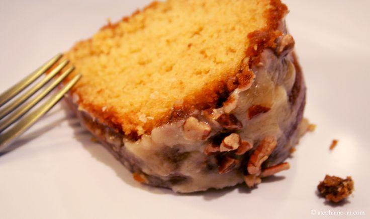 Irish Cream Bundt Cake with Baileys Glaze