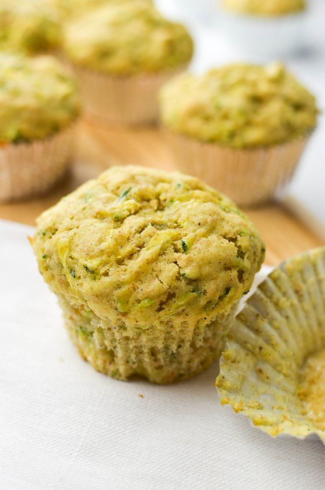 Olive oil and zucchini muffins | My recipes, my food blog | Pinterest