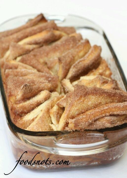 Cinnamon and sugar pull apart bread | Food | Pinterest