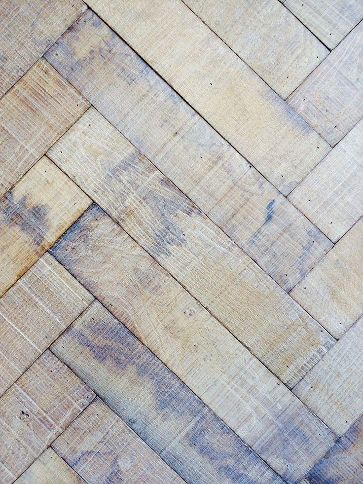 Herringbone Pattern Floor Flooring Pinterest