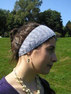 Tapered Crochet Headband Pattern