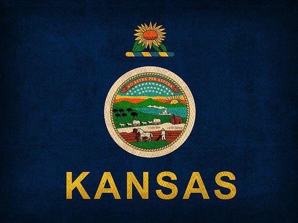 Kansas State Flag | Kansas | Pinterest