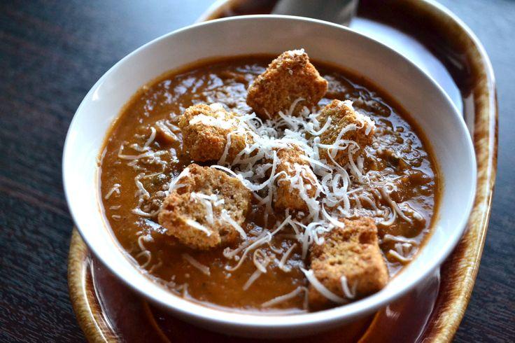 Roasted Eggplant Soup | Soups On! | Pinterest