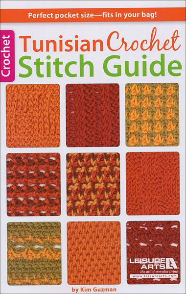 Tunisian Crochet Stitch Guide Tunisian crochet Pinterest
