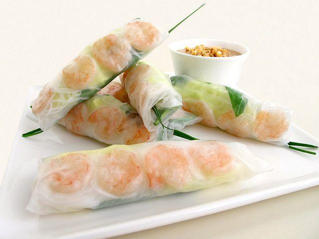 spring rolls   Food, Glorious Food!   Pinterest