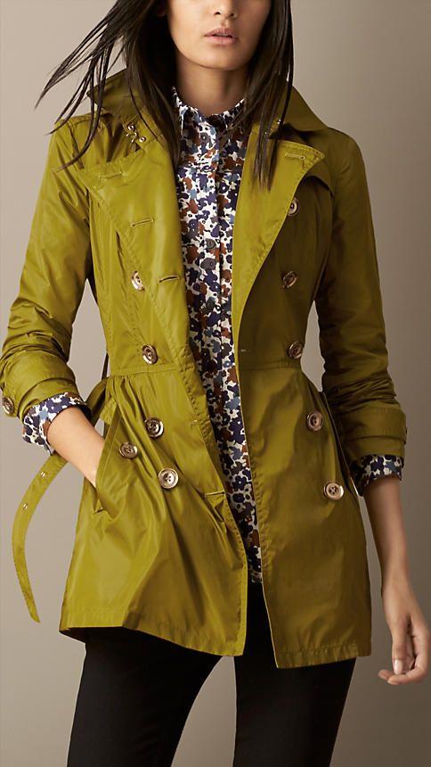 Seasonal trench coats for Christine henke