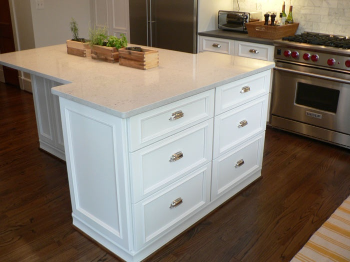 T Shaped Kitchen Island For The Home Pinterest