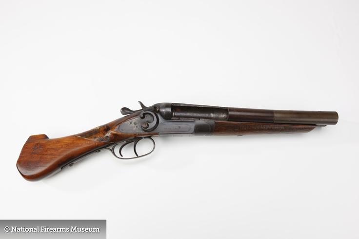 Sawed-off Double-Barrel Shotgun | Tactical | Pinterest