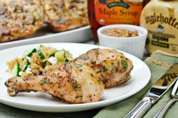 Mustard-Maple Chicken | Recipe