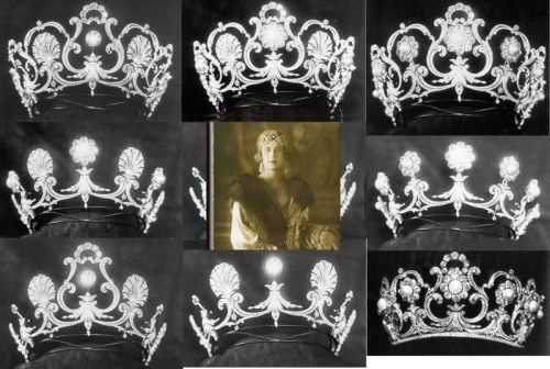 Queen Margherita's Musy tiara - able to be worn in a myriad of forms