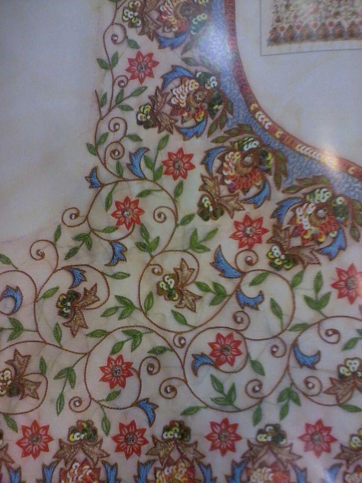 Embroidery aari maggam work tambour