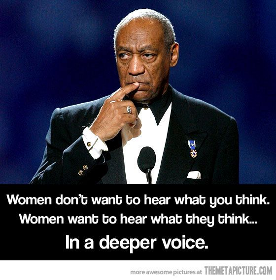 Cosby is so smart!